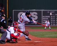 Raul Mondesi Atlanta Braves Stock Image