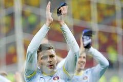 FC Steaua Bucharest - FC Vaslui Stock Photos
