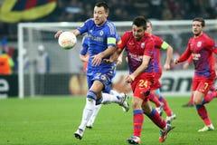 Steaua Boekarest - Chelsea Londen Stock Foto
