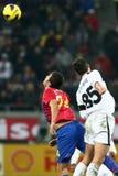 Medel för FC Steaua Bucharest FC Gaz Metan Arkivfoto