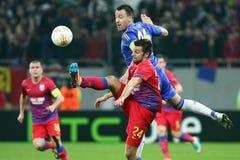Steaua Boekarest - Chelsea Londen Stock Afbeeldingen