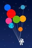 Raum-Astronaut lizenzfreie abbildung
