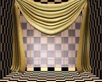 Raum in den Schatten des Gelbs Lizenzfreie Stockfotos