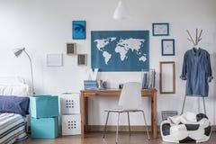 Raum der entworfenen Studie Stockbilder