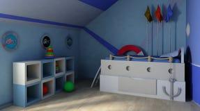 Raum der Kinder Stockbild