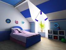 Raum der Kinder Stockbilder