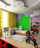 Raum der Kinder Stockfotografie