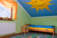 Raum der Kinder Lizenzfreies Stockfoto