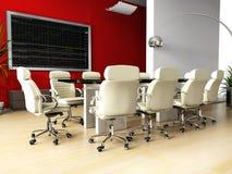 Raum der Vermittlung im Büro Lizenzfreies Stockfoto