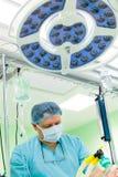 Raum des Anästhesiologen in Kraft stockfotos