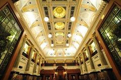 Raum des Parlamentsgebäudes lizenzfreie stockfotografie