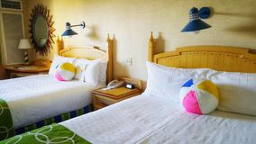 Raum an Disney-Paradies Pier Hotel Stockbilder