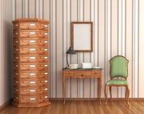 Raum für Archiv Lizenzfreies Stockbild