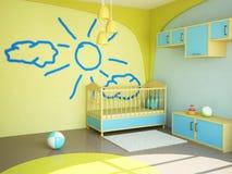 Raum für das Kind vektor abbildung