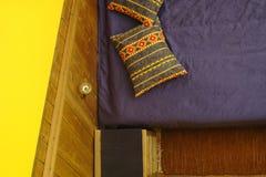 Raum für zwei - Ansicht von oben stockbild