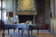 Raum im Chateau de Blois Stockbild