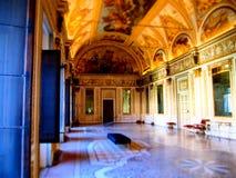 Raum im Schloss von San Giorgio, Mantova Stockfotografie
