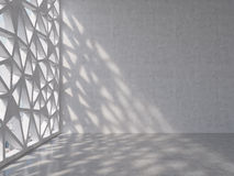 Raum mit Buntglas vektor abbildung