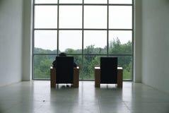 Raum mit einer Ansicht Stockfotografie