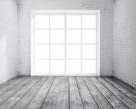 Raum mit Fenster Stockfotografie
