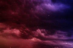 Raum mit Nebelfleck Lizenzfreie Stockbilder