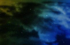 Raum mit Nebelfleck Stockfotos