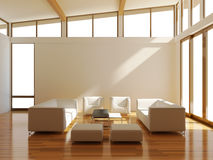 Raum mit Sofa Lizenzfreies Stockbild