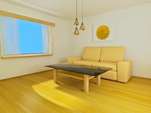 Raum mit Sofa Lizenzfreie Stockbilder