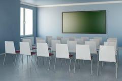 Raum mit Stühlen Stockfoto