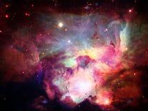 Raum-Nebelfleck Stockfoto
