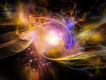 Raum-Turbulenz Stockbild