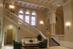 Raum und Treppenhaus Stockfoto