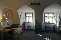Raum von Dracula-Schloss Lizenzfreie Stockbilder