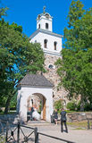 Rauma. Finland. Church of the Holy Cross Stock Image