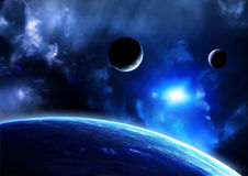 Raumaufflackern Lizenzfreies Stockfoto