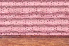 Raumbacksteinmauer Lizenzfreies Stockfoto