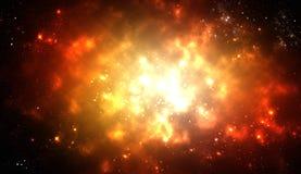 Raumexplosion Stockbild
