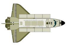 Raumfähre stock abbildung