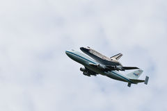 Raumfähre-Entdeckung Washington, Gleichstrom Stockfotos
