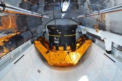 Raumfähre-Forscher-Ladung-Schacht stockbilder