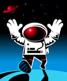 Raumfahrer Stockfoto