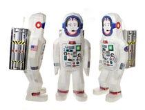 Raumfahrer-Spielwaren stockfoto