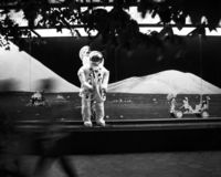 Raumfahrerexemplar Lizenzfreie Stockfotos