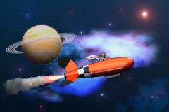 Raumfahrt Lizenzfreie Stockfotografie
