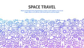 Raumfahrtkonzept Lizenzfreie Stockbilder