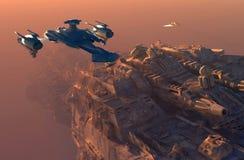 Raumfahrzeug lizenzfreie abbildung