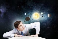 Raumforschung Lizenzfreie Stockfotos