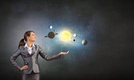 Raumforschung Lizenzfreies Stockfoto