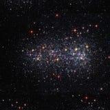 Raumhintergrund mit hellen Sternen Lizenzfreies Stockfoto