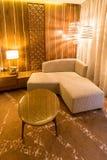 Rauminnenraum mit modernen Möbeln Lizenzfreie Stockbilder